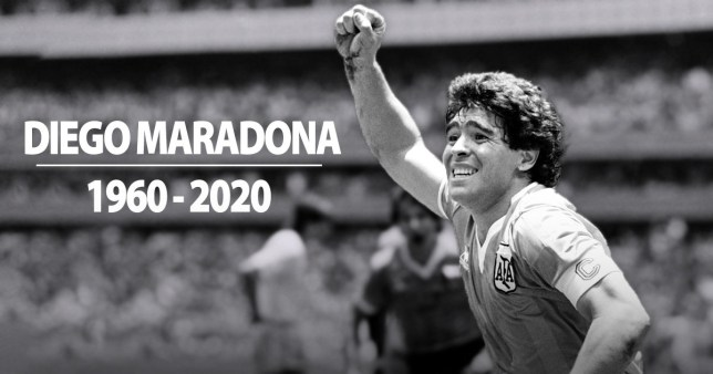 "Selamat Jalan Maradona! Selamat Jalan Legenda ""Hand of God""! Image"