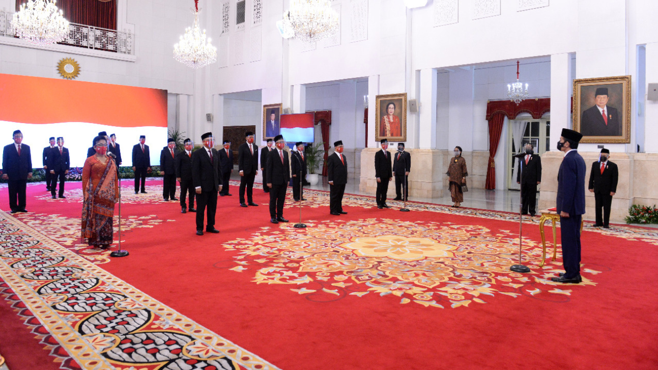 Presiden Jokowi Lantik 20 Duta Besar RI untuk Negara Sahabat Image