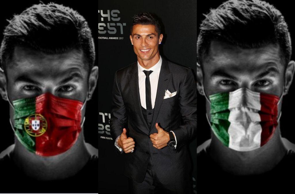 Christiano Ronaldo Positif Corona, Akankah Dunia Sepak Bola Berakhir? Image
