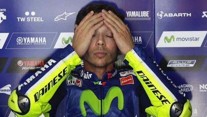 Valentino Rossi Positif Covid 19, Apakah Dunia Moto GP Berakhir? Image