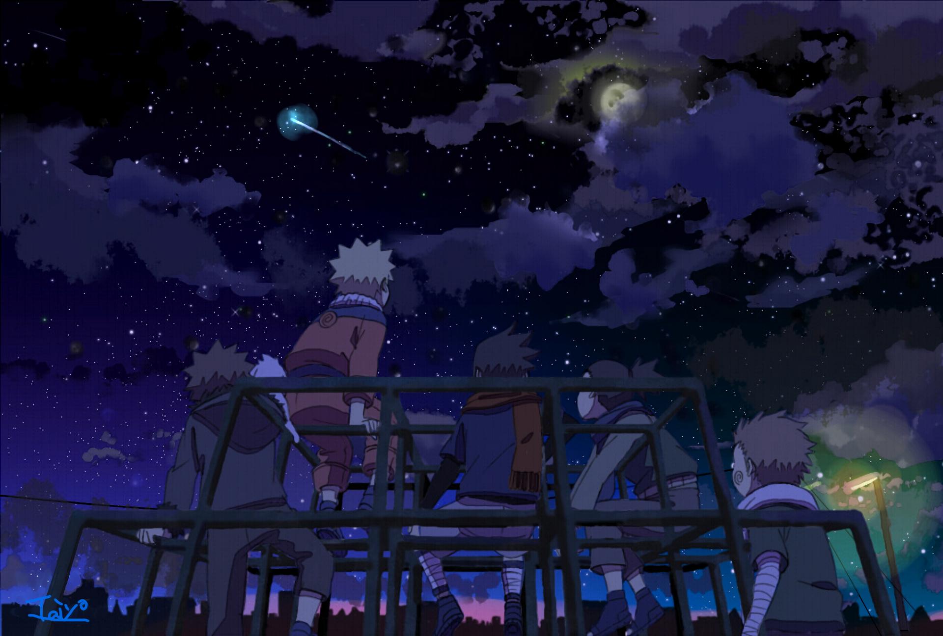 naruto shooting star