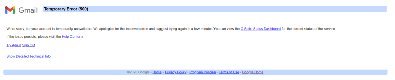 Layanan Google Down! YouTube, Gmail dkk Tak Bisa Diakses Image'