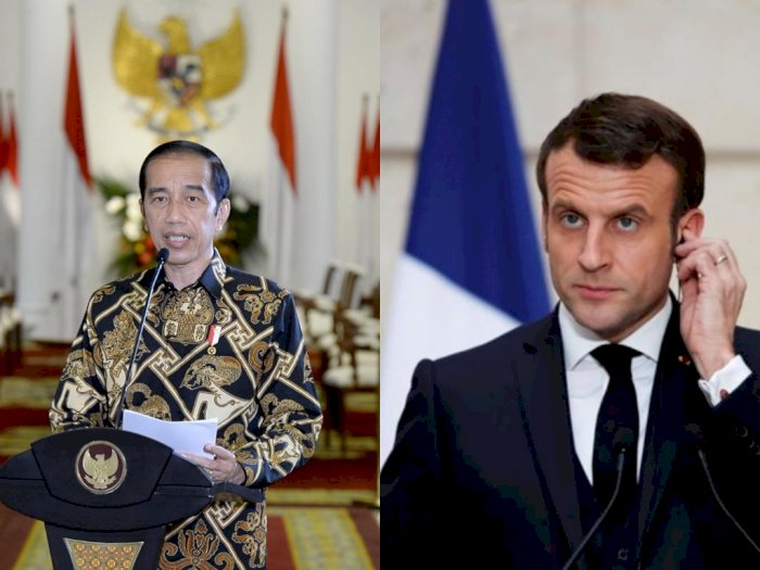 Pernyataan Lengkap Jokowi Kecam Kekerasan di Prancis-Ucapan Macron Image'