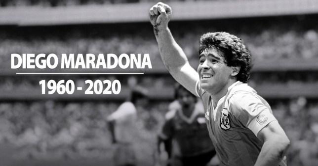 Diego Maradona dies aged 60 Image'