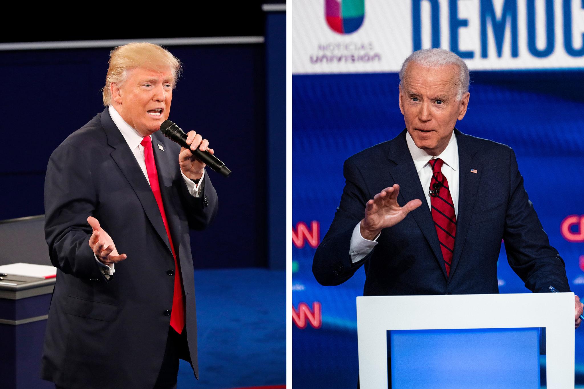 Raih 44 Electoral Votes, Biden Sementara Unggul dari Trump Image'