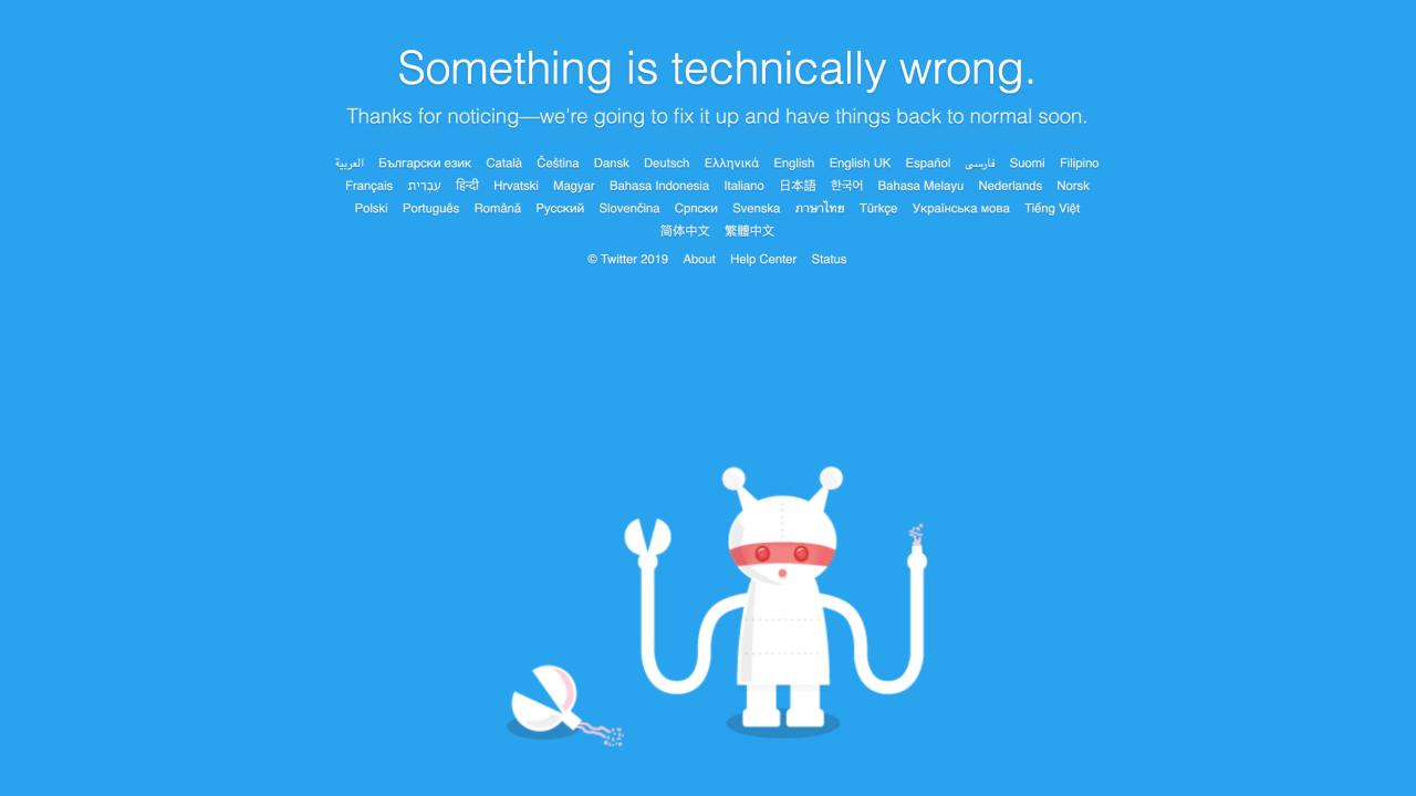 Twitter Down, Akankah Twitter Berakhir? Image'