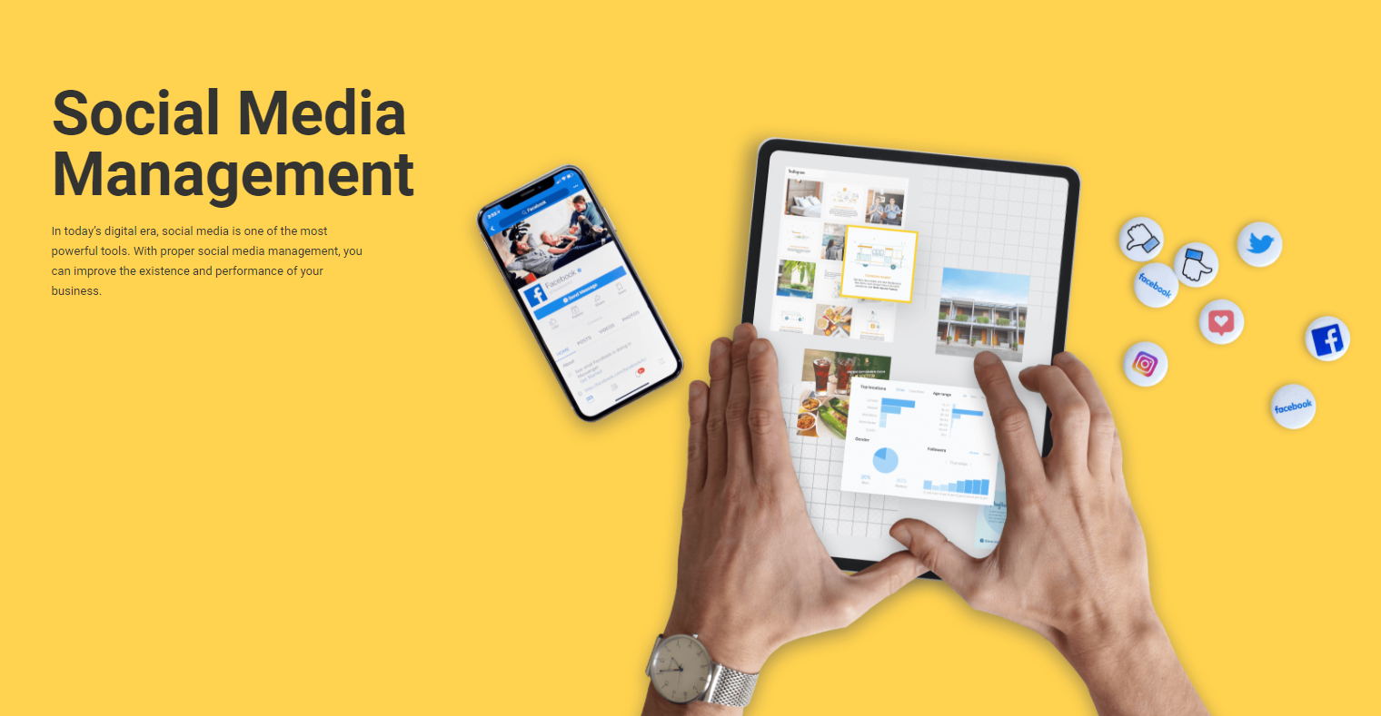 Social Media Management Image'