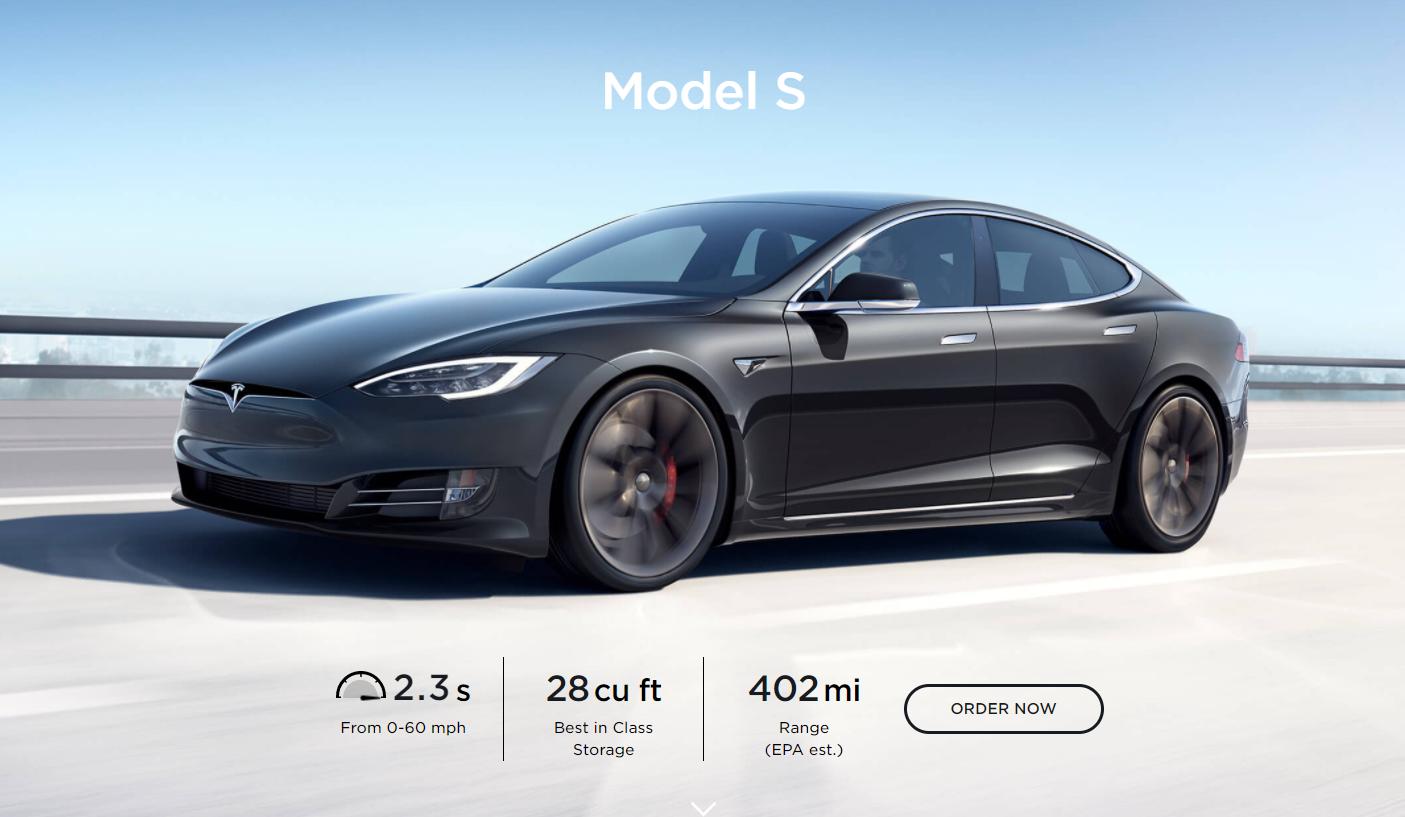 Tesla Model S Image'