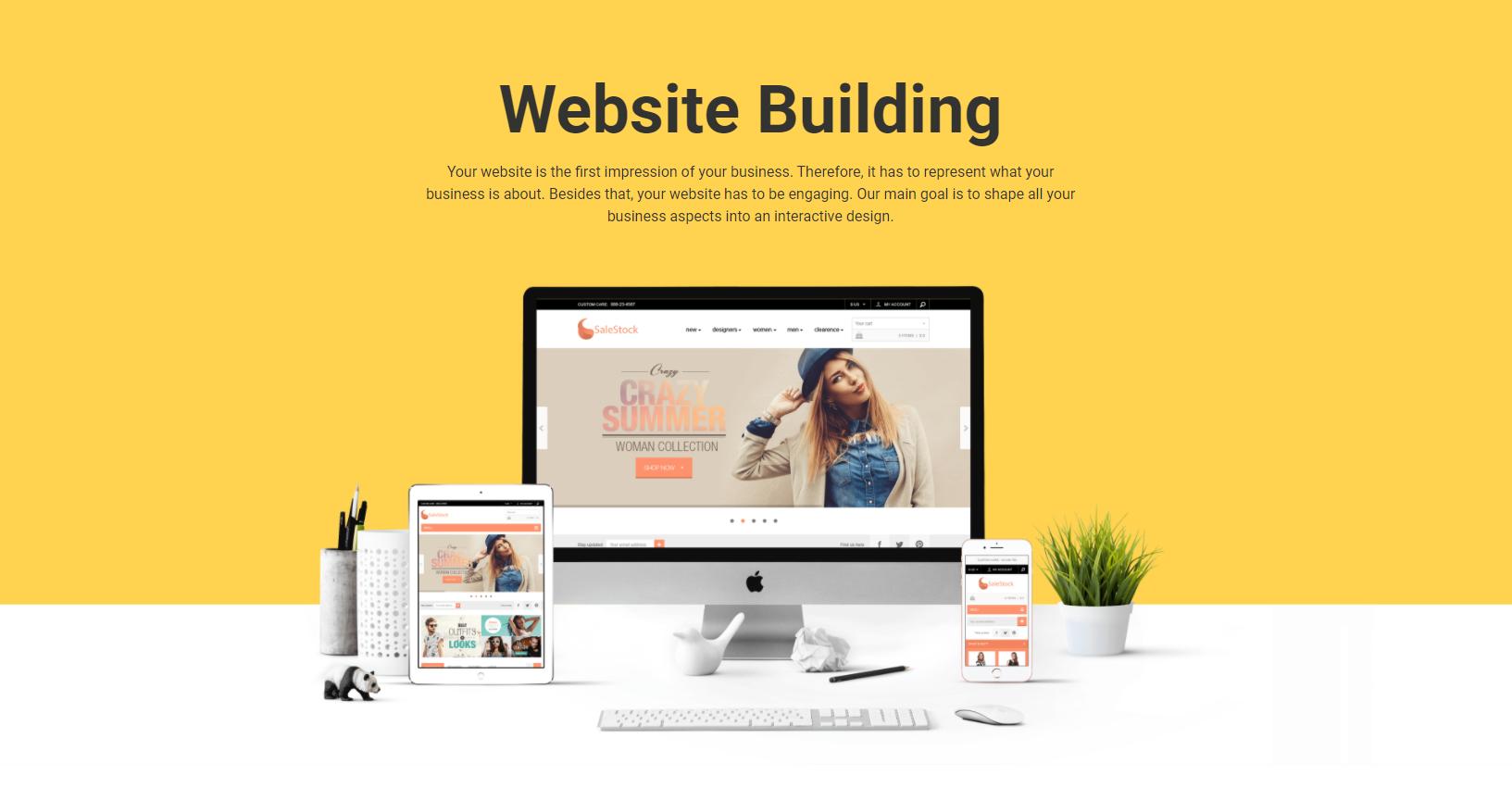 Website Building Image'