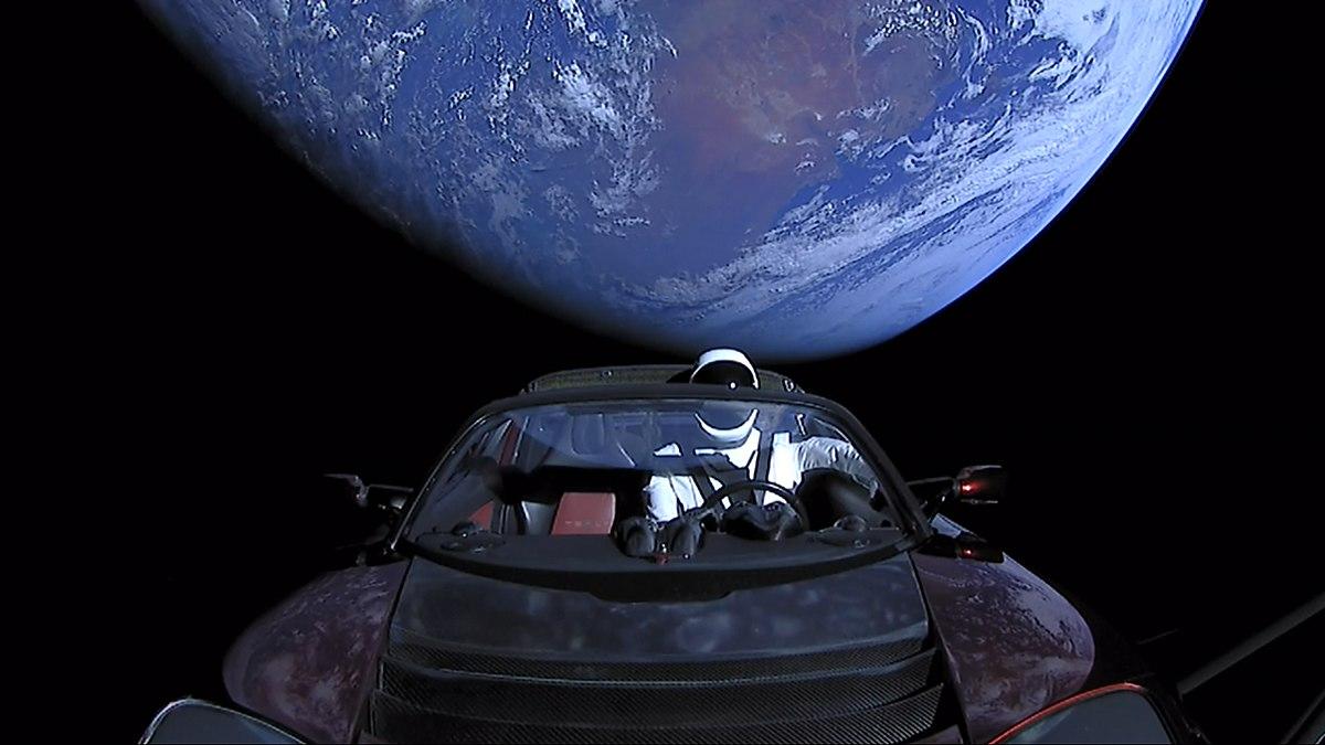 Falcon Heavy & Starman Image'