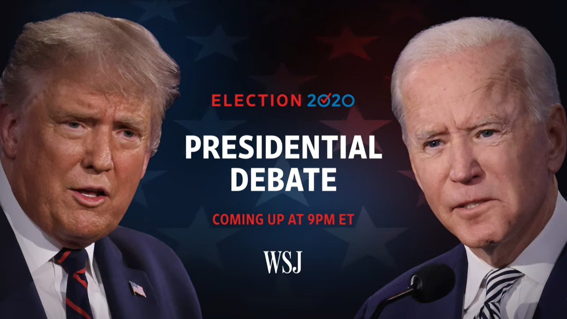 Full Debate: President Trump and Joe Biden Square Off for Final Time Ahead of Election Image'