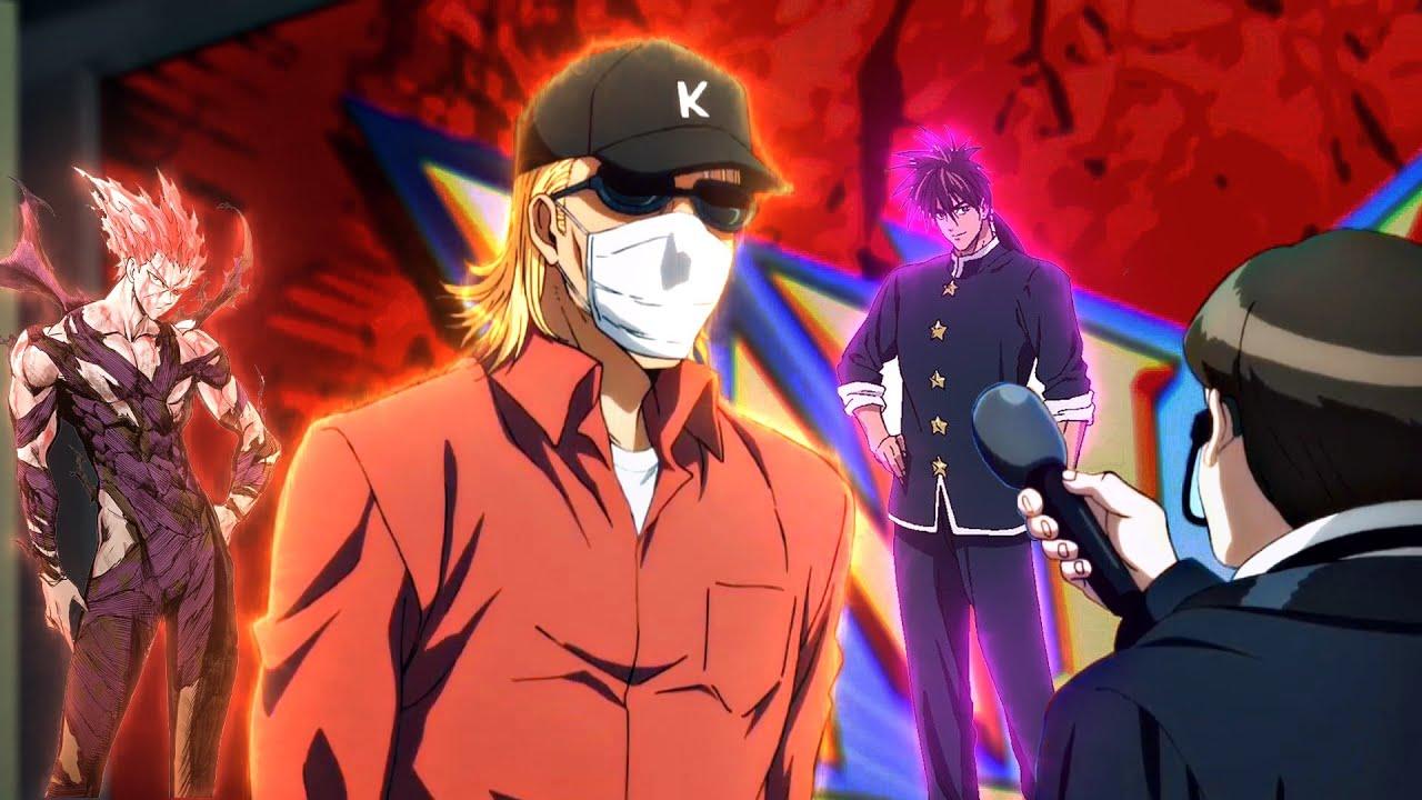 King Wins Gaming Tournament - King Defeats Saitama - Suiryu Vs Garou | One Punch Man OVA Image'