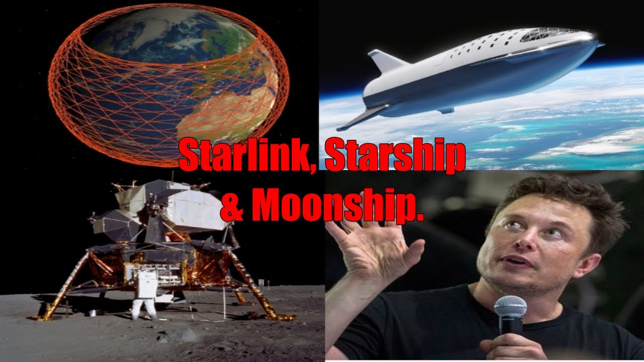 Elon Musk announces Starlink to Mars, Starship's stratospheric flight and Moonship in 13 minutes Image'