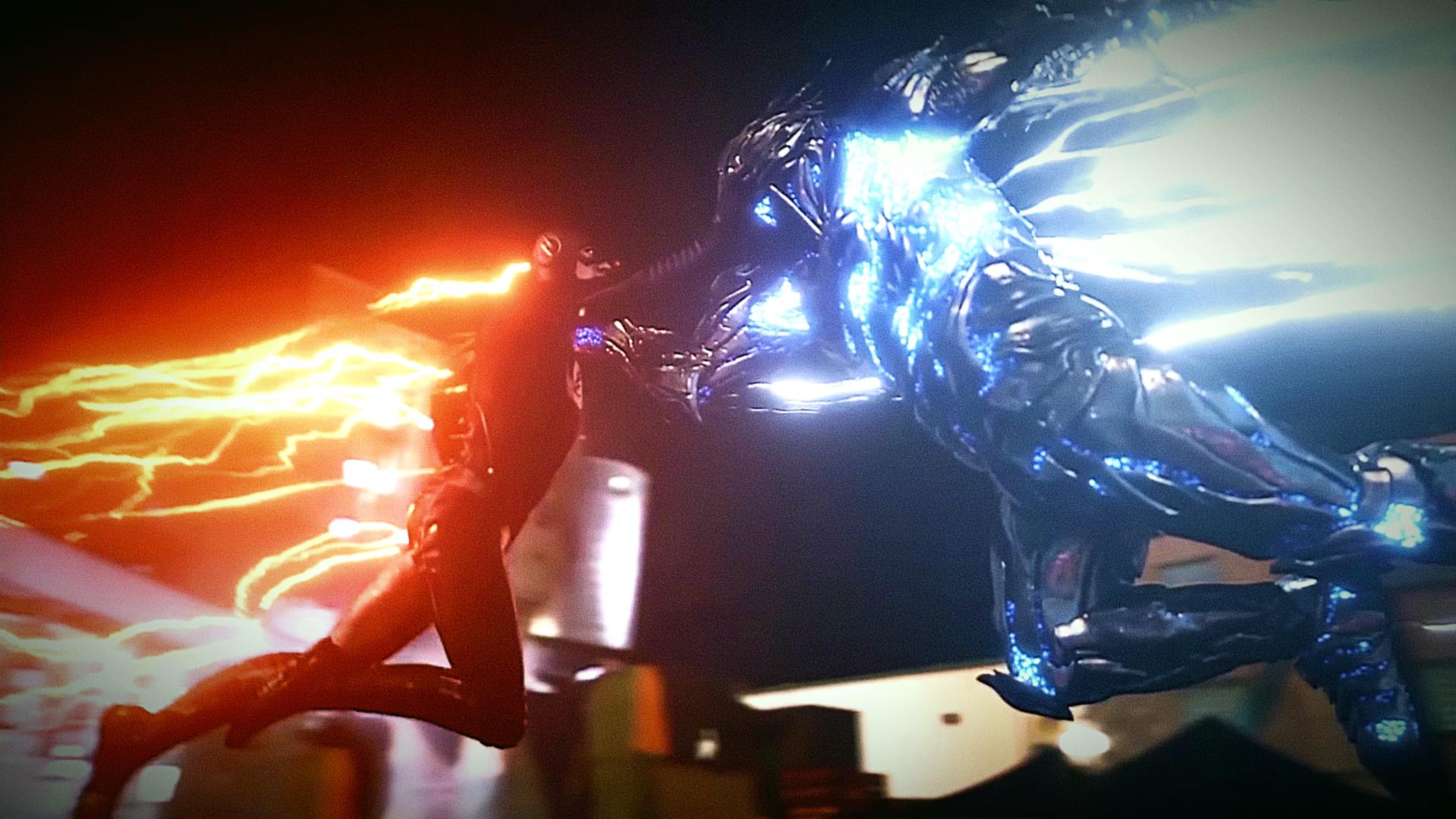 The Flash 3x07 - Flash vs Savitar - Opening Scene Image'