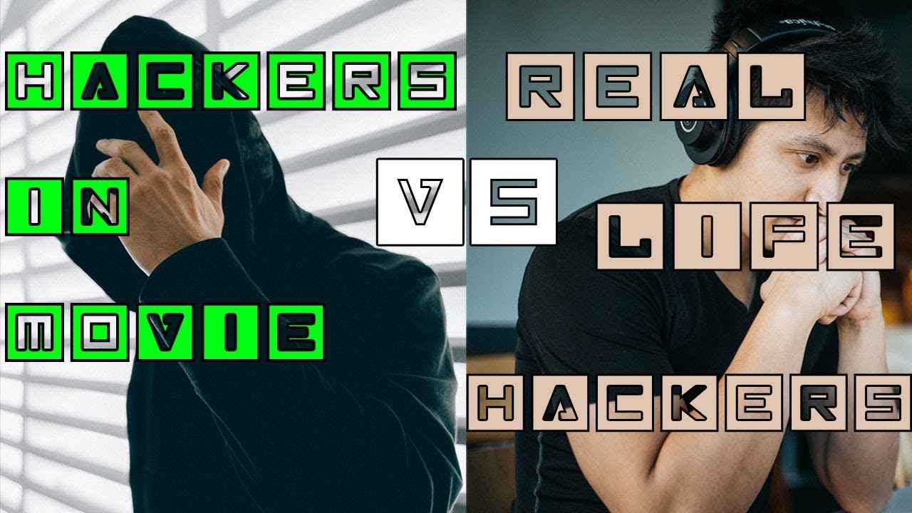 Hackers In Movie VS Real Life Hackers Image'