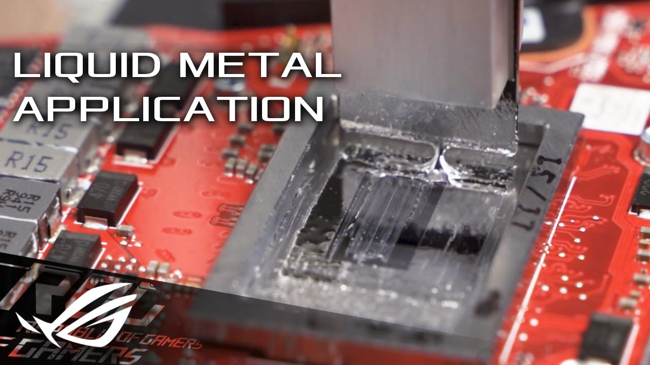 Liquid Metal Technology | ROG Image'
