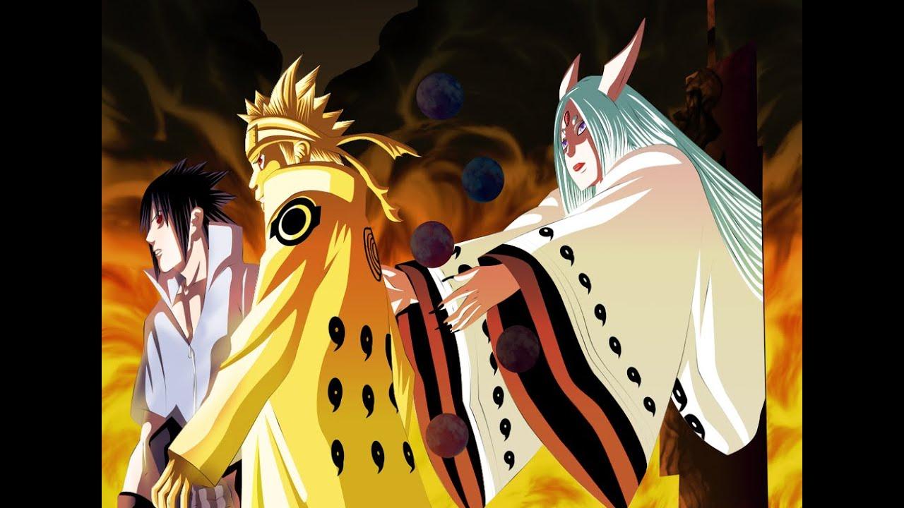 Sasuke Naruto Sakura vs Kaguya full fight hd [60 FPS] Image'