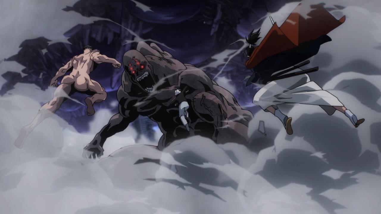 Class S vs Melzargard Full Fight Image'