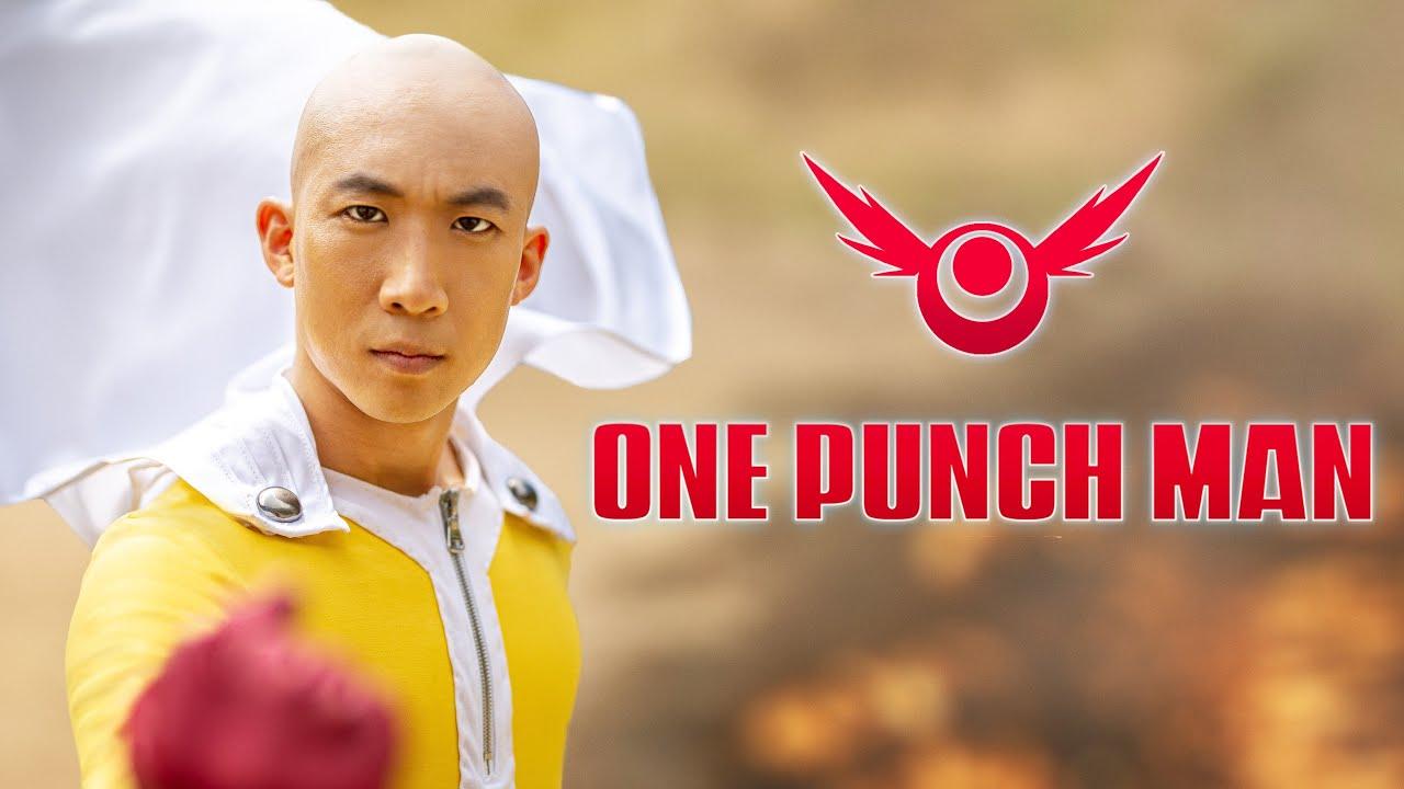 ONE PUNCH MAN LIVE ACTION - Saitama vs Genos | RE:Anime Image'