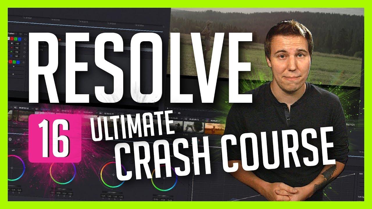 Resolve 16: The Ultimate Crash Course - DaVinci Resolve Basic Training - Casey Faris Image