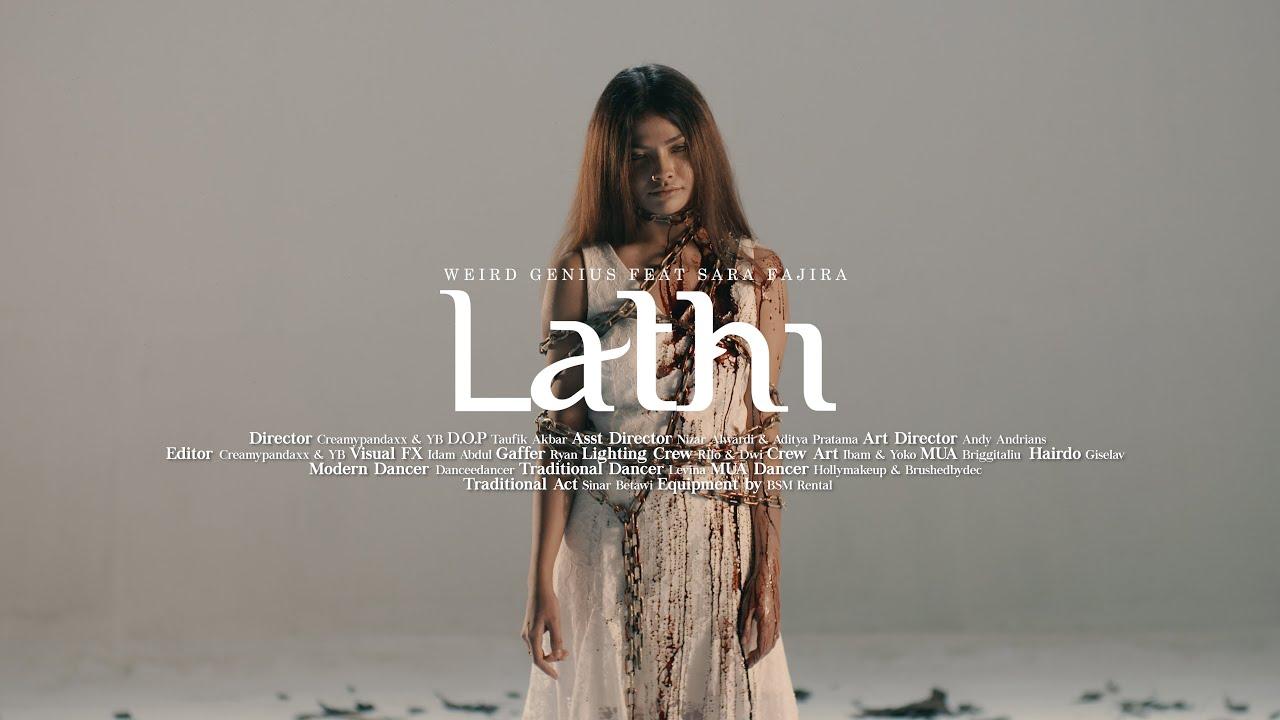 Weird Genius - Lathi (ft. Sara Fajira) Official Music Video Image'
